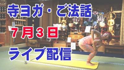 7.3寺ヨガライブ